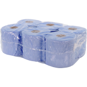 B-G Blue Paper Towel Roll - 2 ply