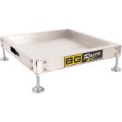 B-G Racing Aluminium Scale Pad Levelling Trays (Set of 4)