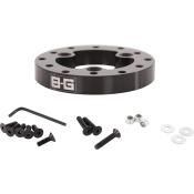 B-G Racing 12.7mm Steering Wheel Adaptor- 3 to 6 Point