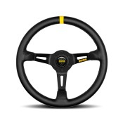MOMO MOD.08 Steering Wheel Black Spoke